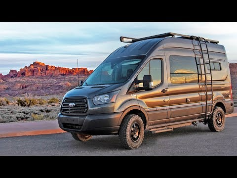 14 Ultimate 4x4 Ford Transit Camper Van Tour Storyteller Overland Mode 4x4 Youtube Very Cool Ford Transit Camper Transit Camper Ford Transit