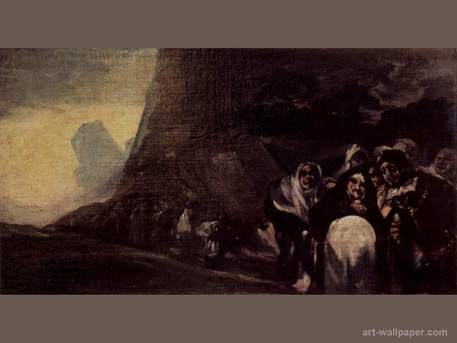 goya francisco /Series,pinturas negras