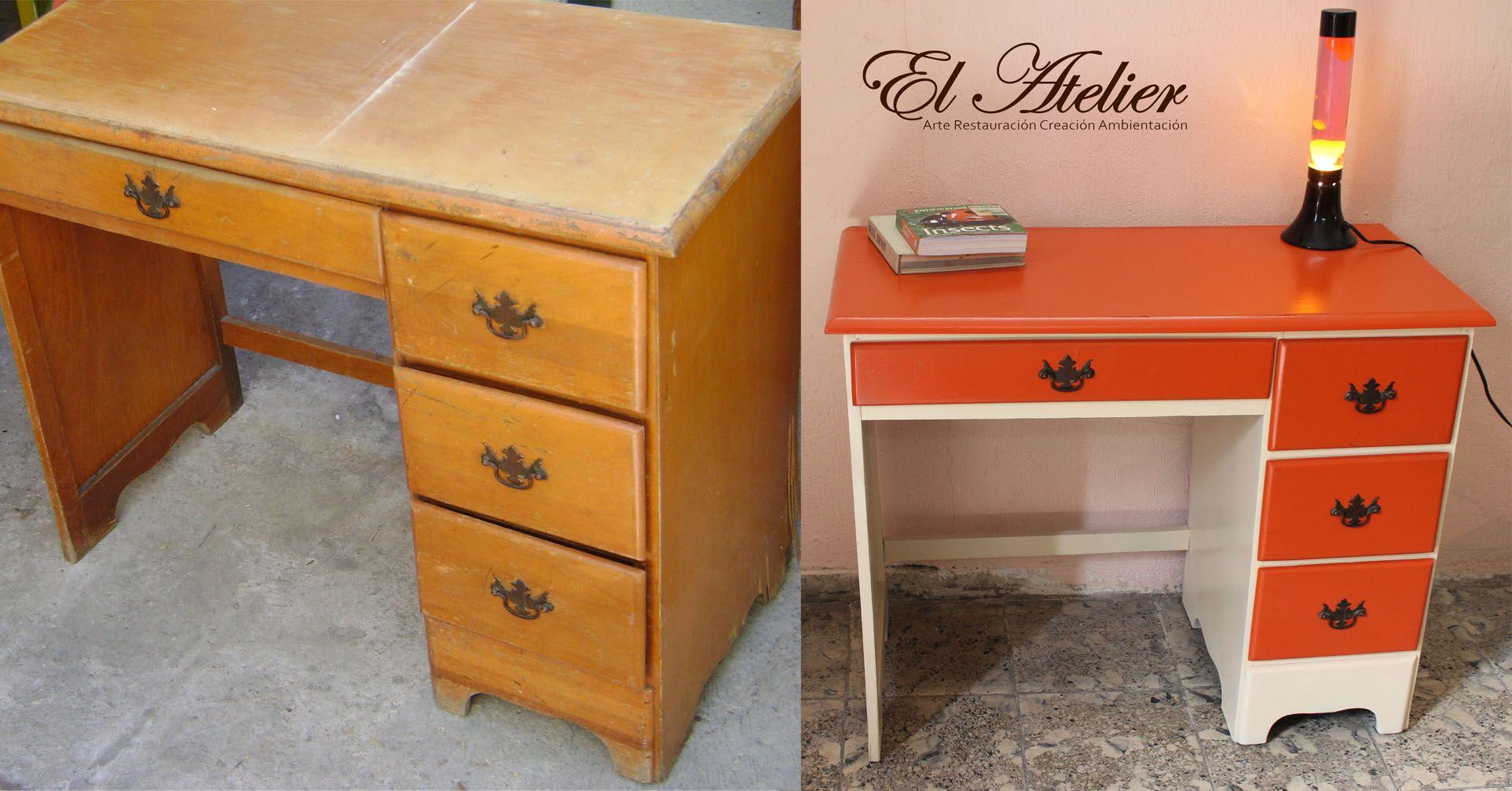 Muebles Restaurados Antes Y Despues Ideas Para Pintar Muebles De  # Muebles Restaurados