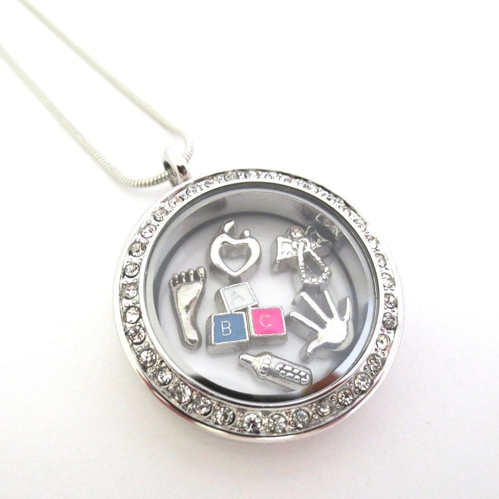 small sterling fullxfull zoom necklace chain lockets il listing silver tiny baby locket