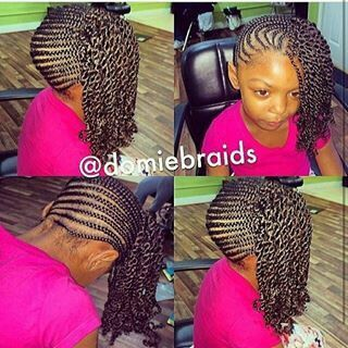 Black kids hairstyles for girls for wedding