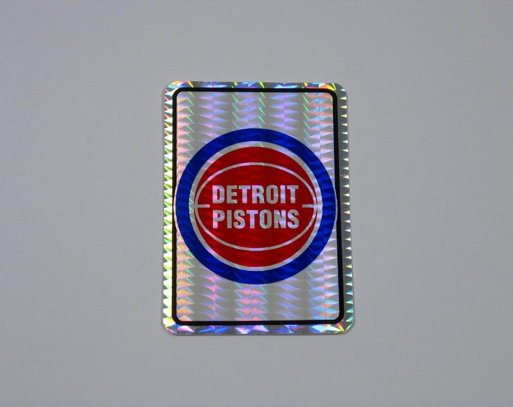 Vintage Prism Sticker Vending Decal Detroit Pistons Basketball Logo Nba 80s 90s Metallic Foil Rare Holographic Sports Team Michigan Detroit Pistons Pistons Basketball Detroit Pistons Basketball [ 794 x 1000 Pixel ]