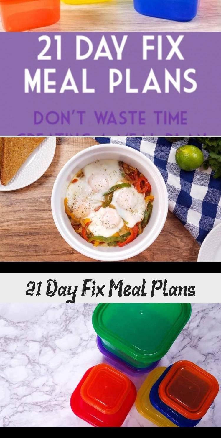 21 Day Fix Meal Plans  Diet