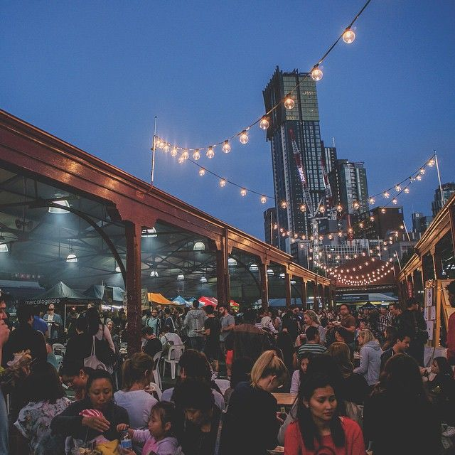 "@thenightmarket's photo: ""A perfect 29 degrees forecasted for tomorrow night's #queenvicnightmarket!"""