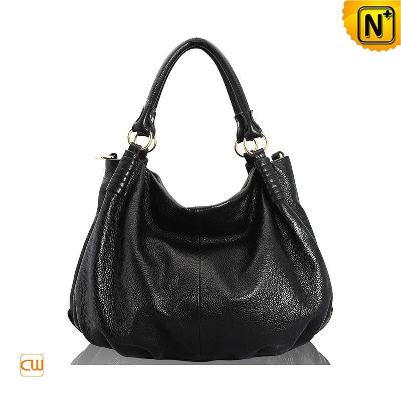 388ae83264 Womens Fashion Leather Hobo Bags CW231363 Black  135.89 - www ...