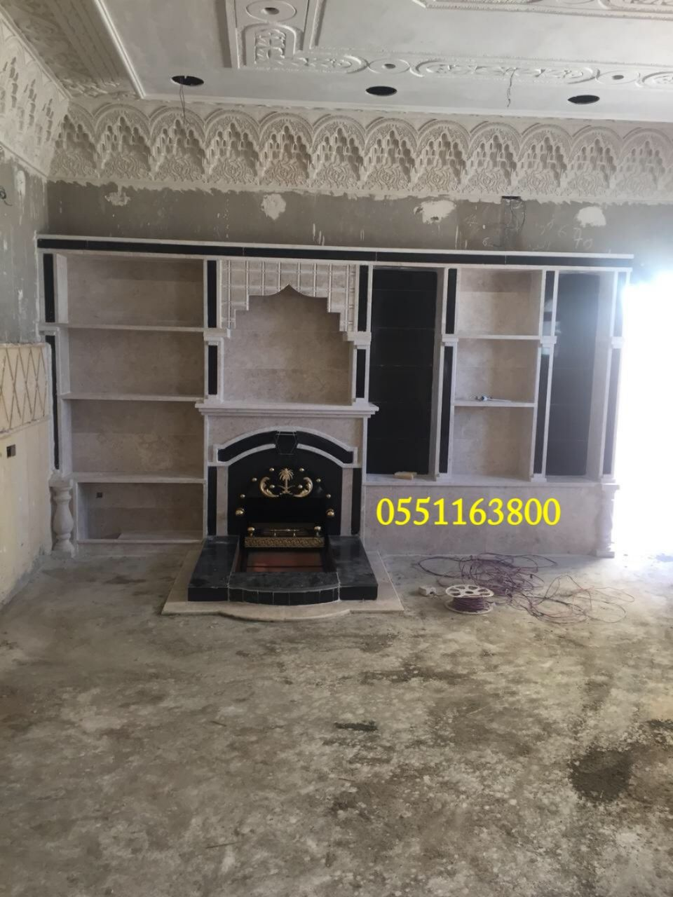 موديلات مشبات Home Decor Home Fireplace