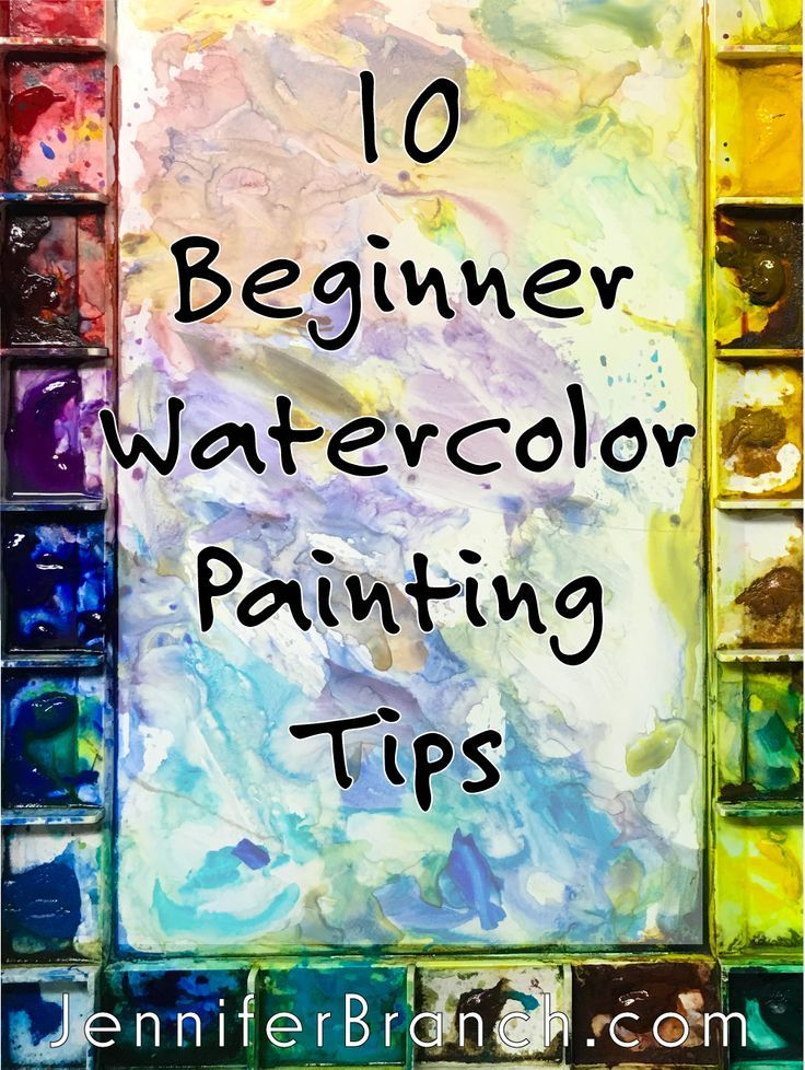 10 Watercolor Hacks For Beginners Craft Ideas Watercolor