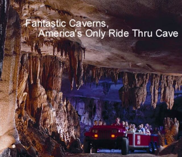 Fantastic Caverns-America's only drive through cave. Springfield, IL. August 31, 2014