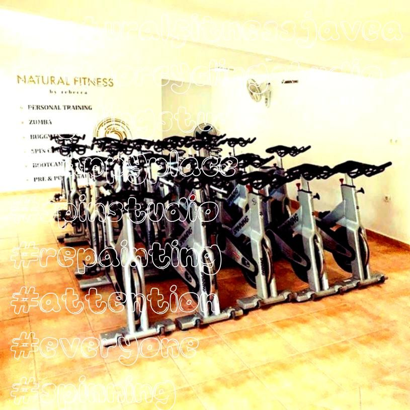 #naturalfitnessjavea #indoorcyclingstudio #cyclingstudio #happyplace #spinstudio #repainting #attent...