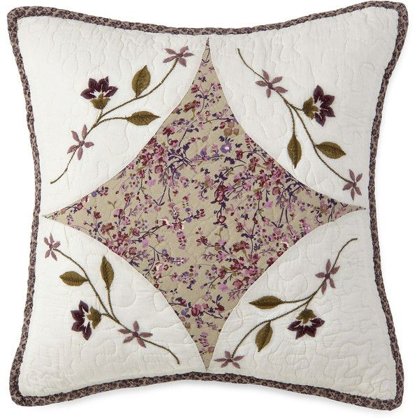 Home Expressions Lavendar Square Decorative Pillow (145 BRL) ❤ liked on Polyvore featuring home, home decor, throw pillows, square throw pillows, lilac throw pillows and lavender throw pillows