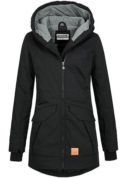 Jacke schwarz winter