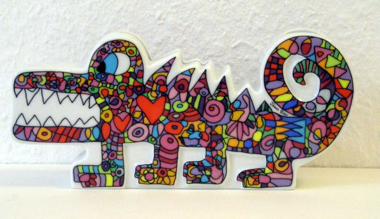 """Hungry For Your Love"""" James Rizzi For Rosenthal"""