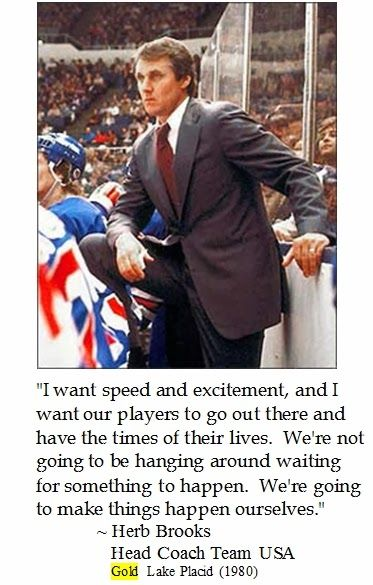 Herb Brooks on #Hockey #teamUSA #quotes Sports Quotes Olympic