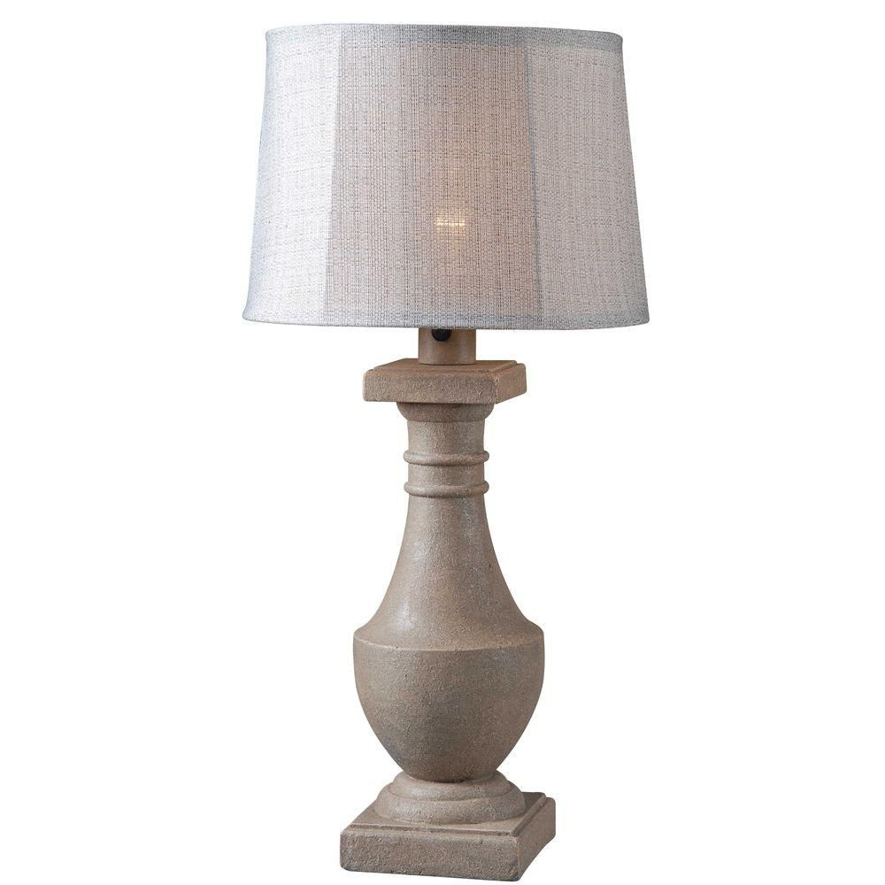 Kenroy Home Patio 31 In Coquina Outdoor Table Lamp