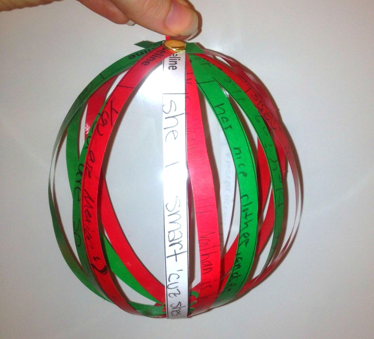 Classroom Ornament Crafts ~ Classroom kindness ornaments lesson and template