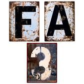 Skilte, 3/A/F, s/1.