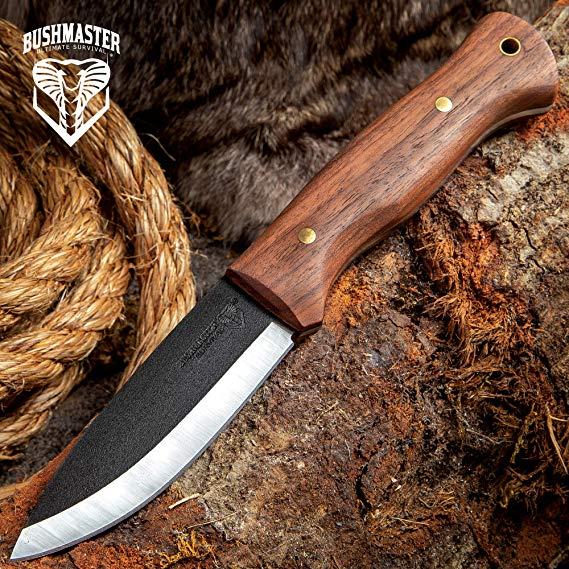 38 Bushmaster Bushcraft Explorer Fixed Blade Knife 1095 Carbon Steel Blade Fixed Blade Knife Knife Bushmaster