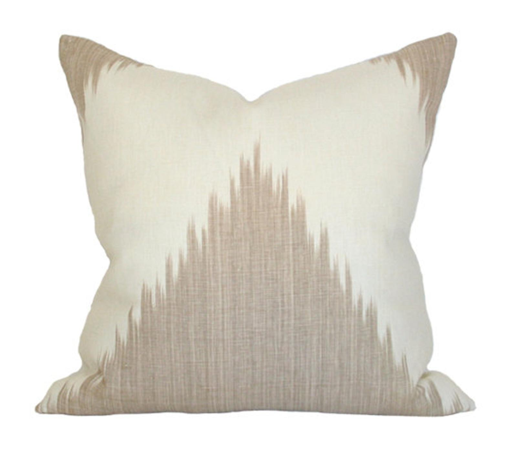 Mirasol Linen Aerin Lauder Designer Pillow Cover Limited Pillow Cover Design Designer Pillow Pillows