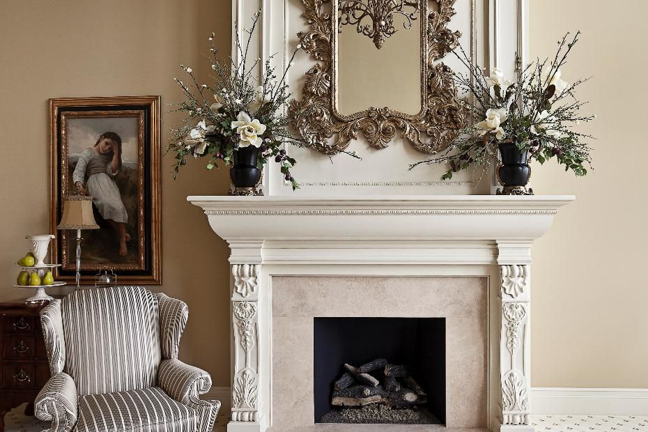 Elegant And Ornate Fireplace Design Cost Details For This New
