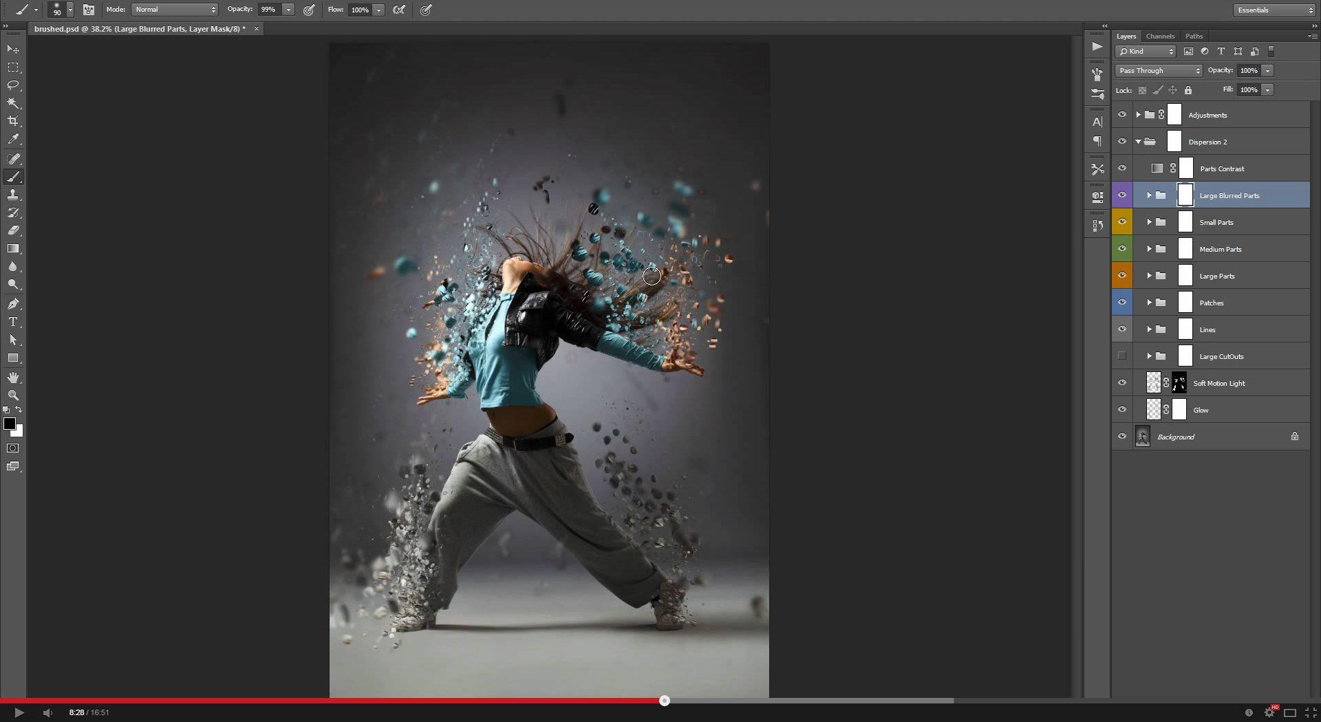 Dispersion 2 Photoshop Action | GraphicRiver
