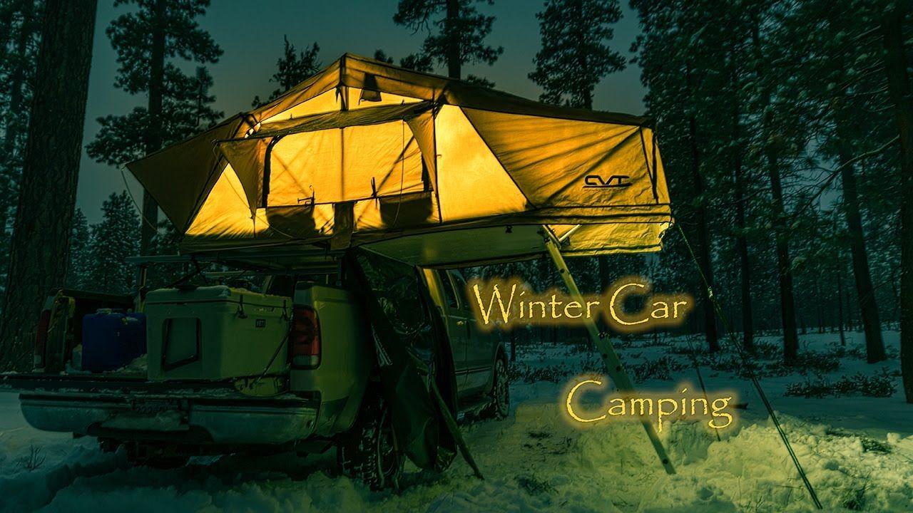 Mt Shasta Roof Top Tent Cvt Cascadia Vehicle Tents Winter Car Camping In 2020 Top Tents Winter Car Roof Top Tent