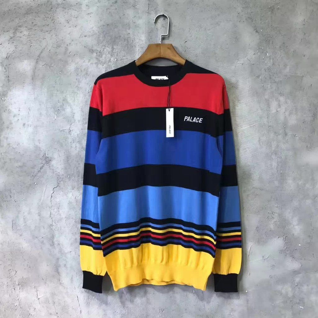 cf2628fbcf7e0 Palace Striped Sweater