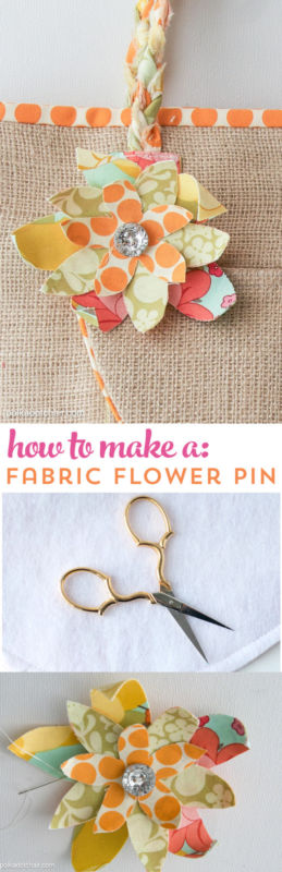 You've got your eye on those expensive, hand crafted fabric flower brooches sold in designer shops. But what if you could make your own? These cute pins are perfect for accessorizing a blazer or embellishing a tote. Save money as you take on this fun craft project. Plus, you get to choose the fabric of your choice! Pick out several fabric scraps and gather Heat N Bond Lite, felt, a bar pin, needle and thread, glue gun, and a button. Head to eBay for the handy step-by-step instructions.