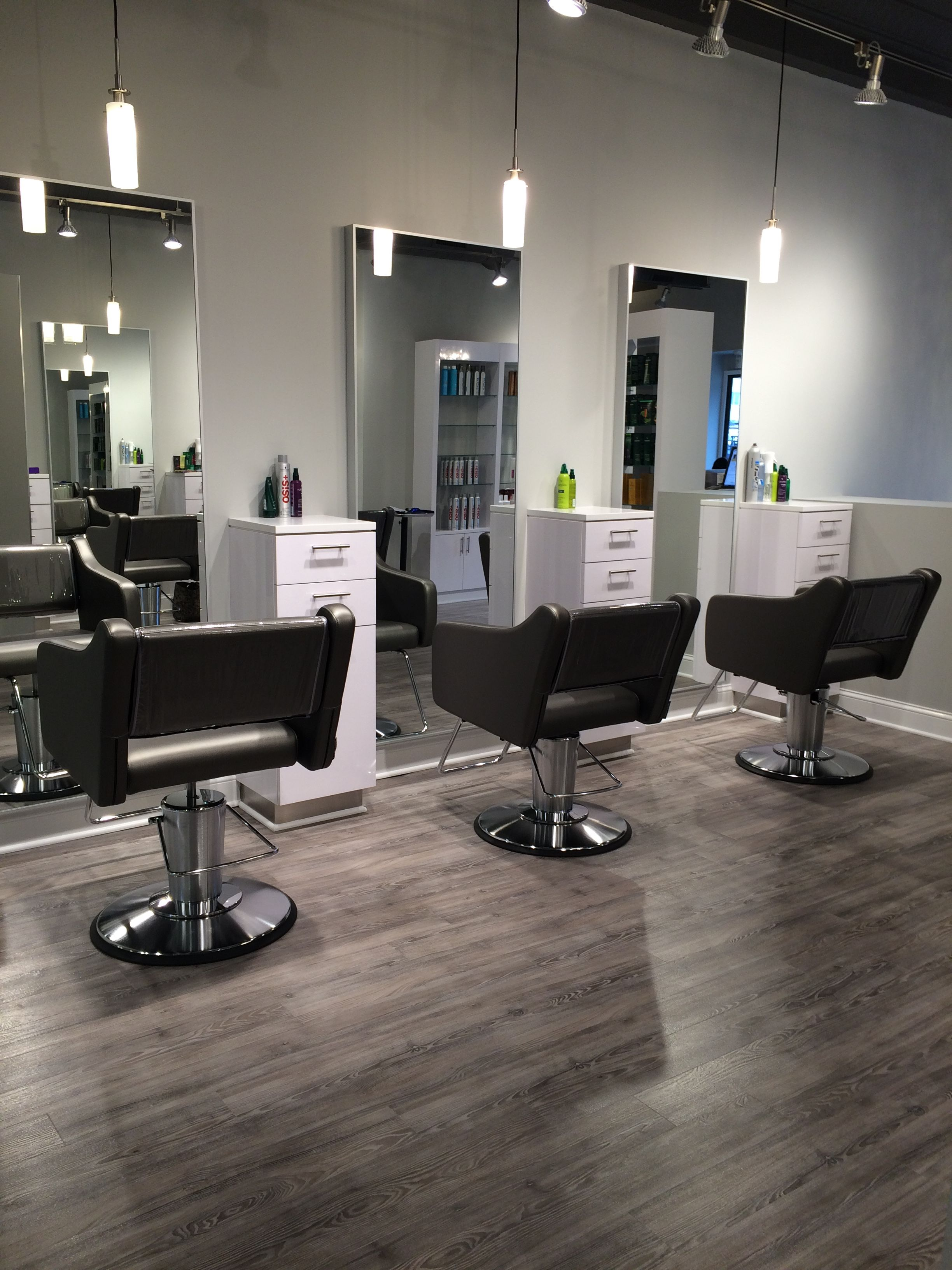 Internal Affairs Interior Designers: Our Stylists Stations #interiors #salon #atelies113 In