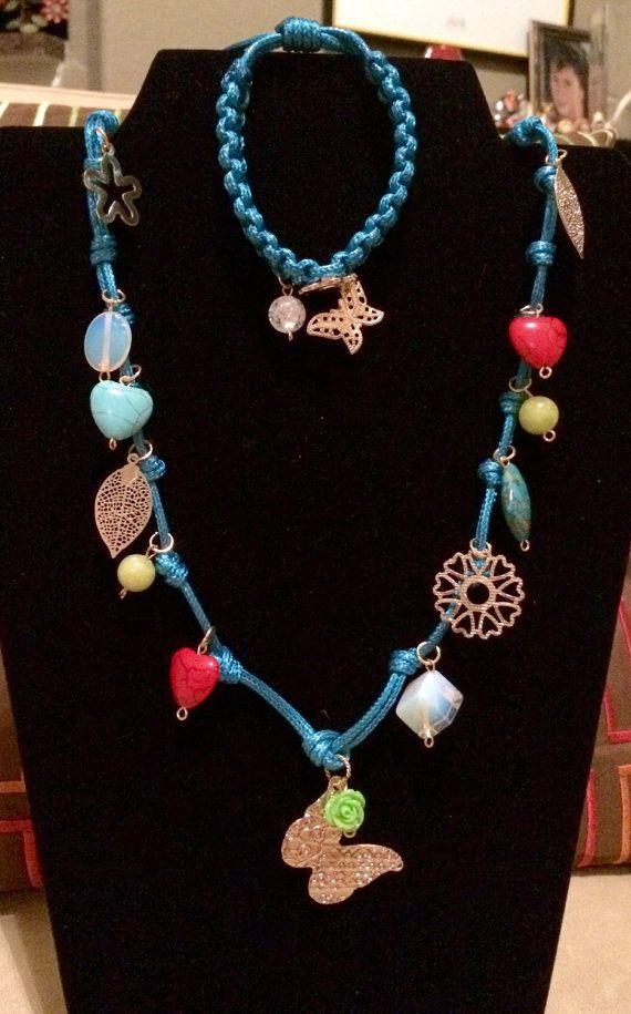 Long handmade necklace sets. #handmade #gifts