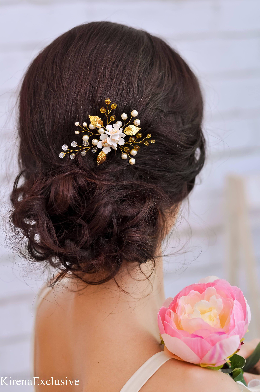 bridal hair pins crystal hair pins wedding hair clip rhinestone