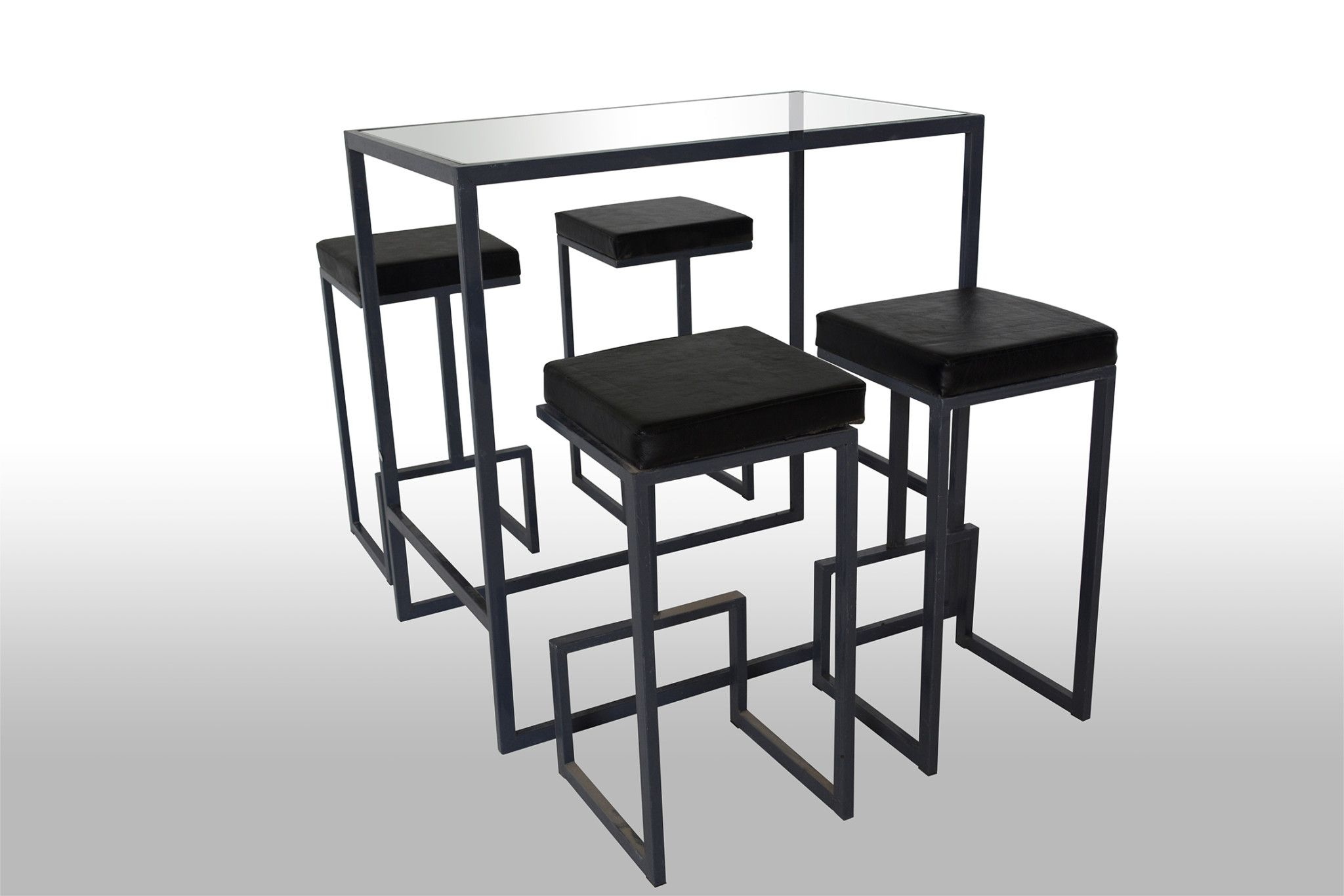 High black table Code:T4BHT Dimensions: 100x60x100 Colors: Black ...