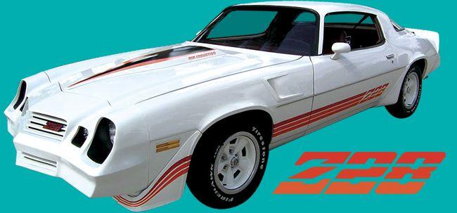 1979 1980 1981 Chevy Camaro Z28 sticker decal