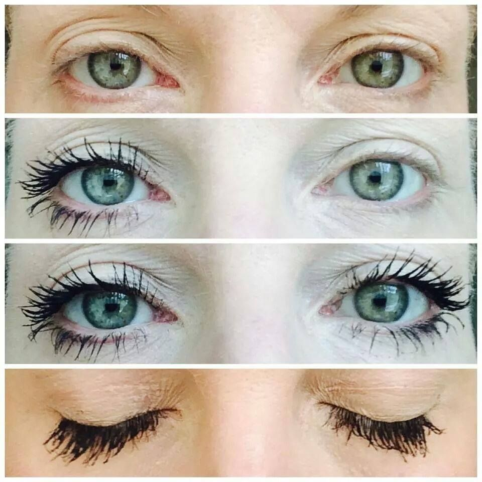cfc62d98f41 MASCARA CHALLENGE! Love this before and after of an Arbonne Consumers Eye  Lashes! So Many people try our Mascara and then just Think.