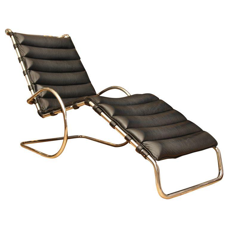 Mies Van Der Rohe Vintage MR Adjustable Chaise Longue