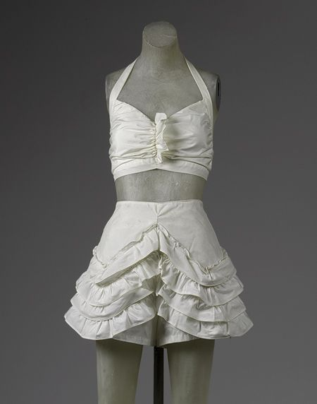 Beachwear (bikini) [American] (1985.364.12a,b) | Heilbrunn Timeline of Art History | The Metropolitan Museum of Art