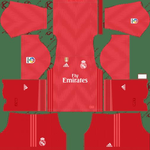 Dream League Soccer Real Madrid Kits 2018 2019 Url 512x512 Real Madrid Kit Real Madrid Real Madrid Third Kit