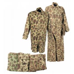 large discount competitive price superior quality World War II U.S. Marine Pattern Forest Camouflage Utility ...