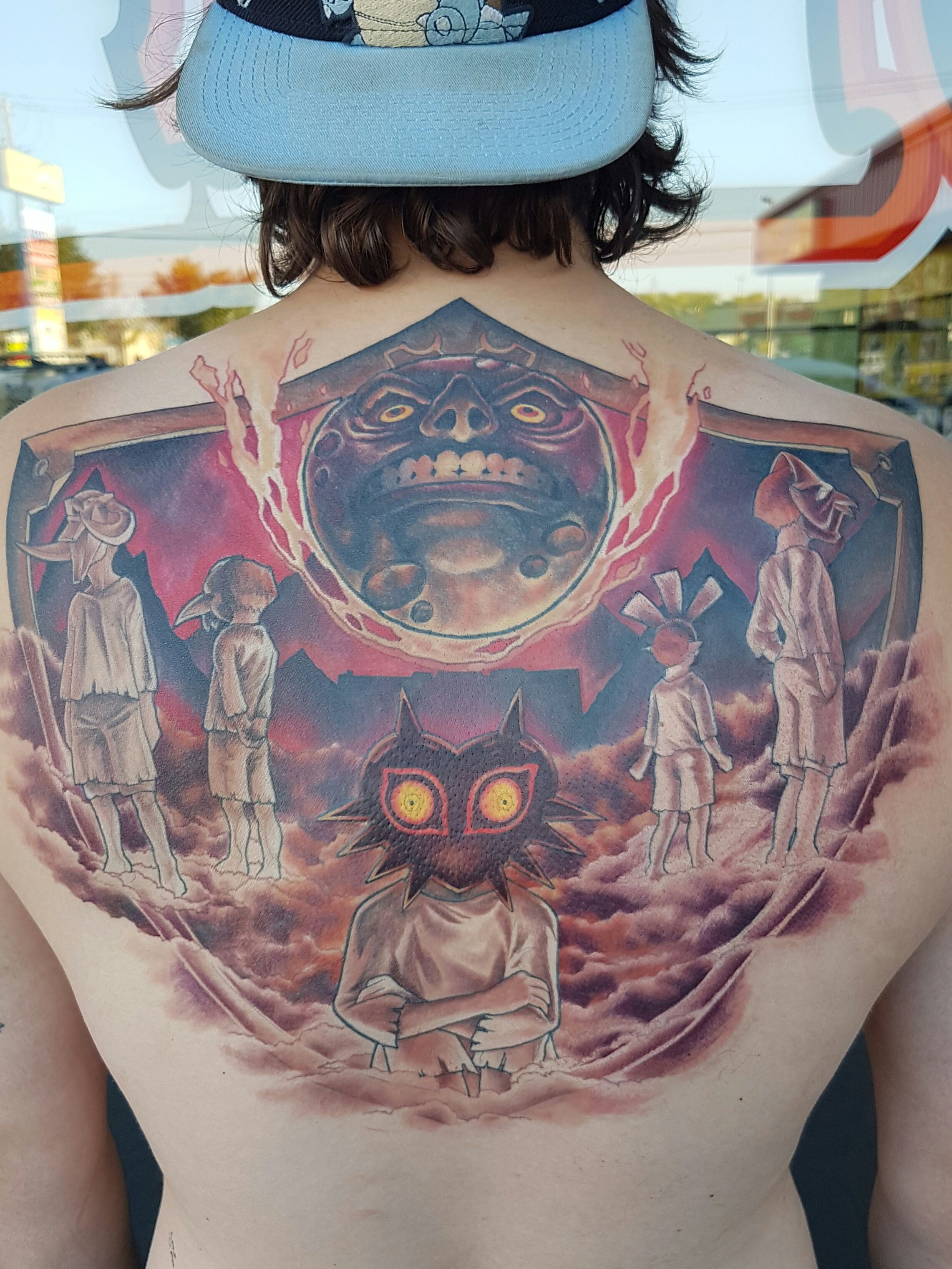 zelda breath of the wild tattoo Zelda tattoo, Mask