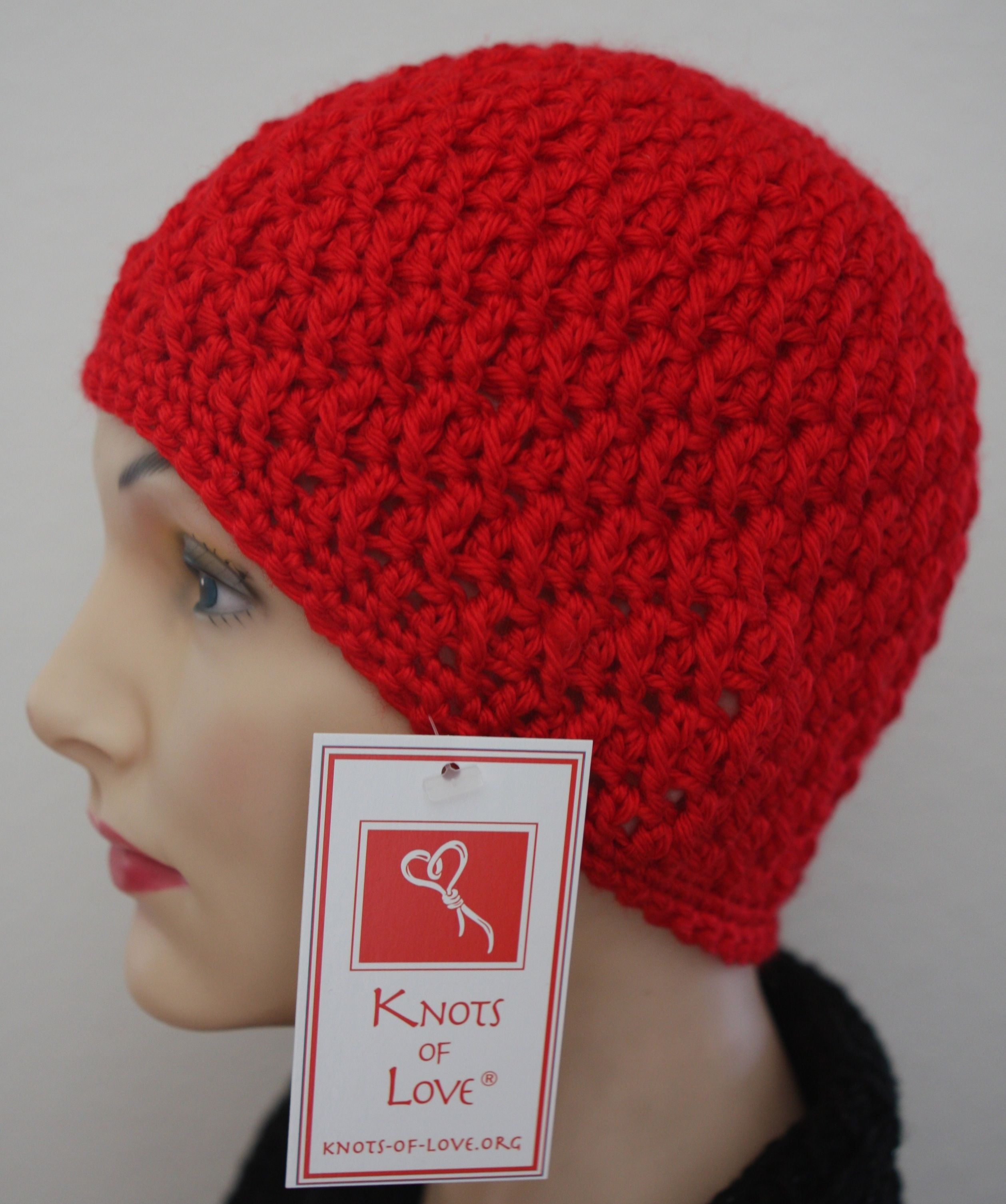 Poster Cap crochet pattern... perfect for a chemo cap, lots of ...