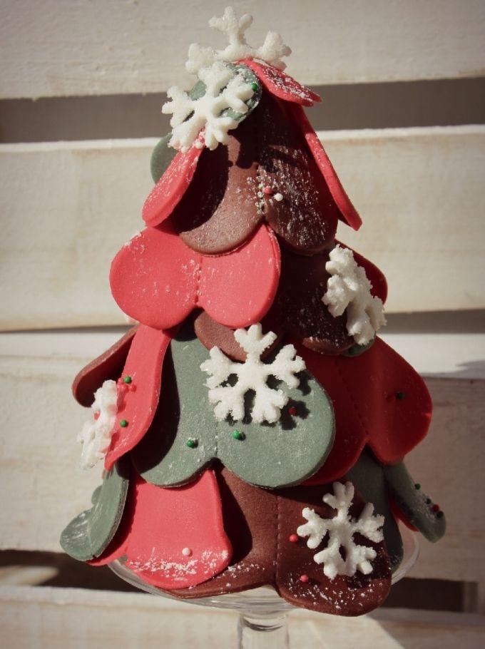 Tutorial: Alberelli natalizi di cupcakes
