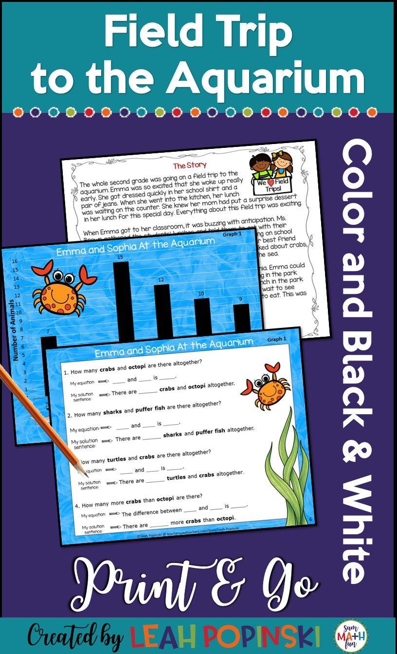Aquarium Math Worksheets | Reviewwalls.co