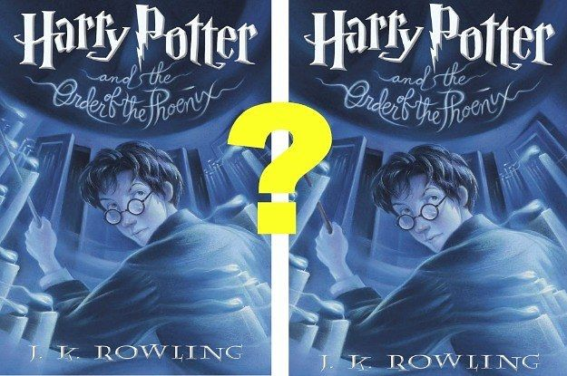 Can You Tell The Real Harry Potter Covers From The Fake Harry Potter Quiz Harry Potter Quizzes Harry Potter Obsession