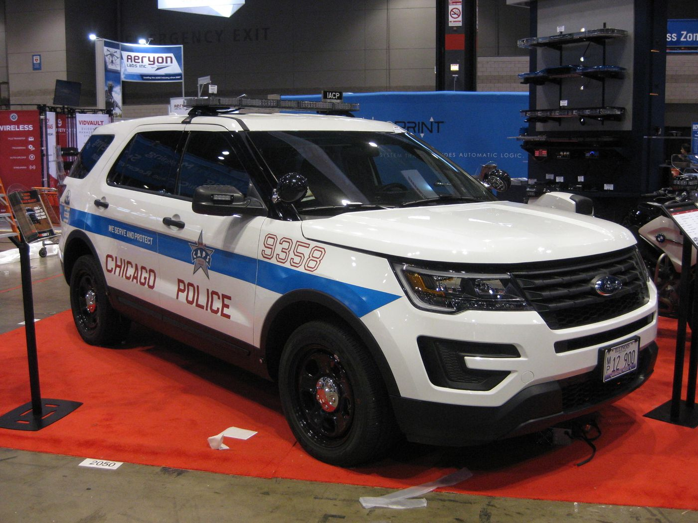 Chicago police 2016 ford explorer