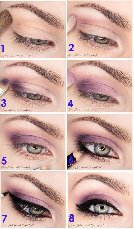 Veja Que Lindo Este Passo A Passo Eye Makeup