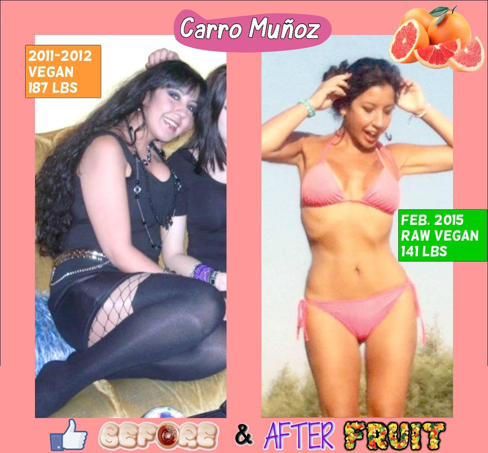 This Is Carro Munoz On A Raw Vegan Diet Instagram