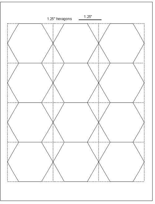 paper hexagon templates elita aisushi co