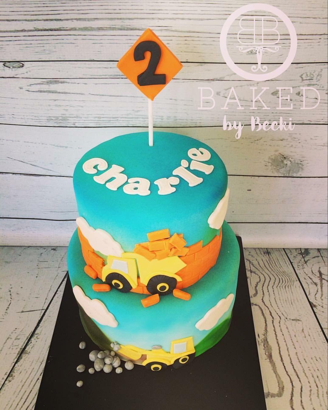Digger cake digger cake cake baking