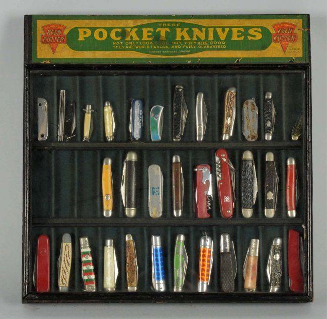 Pocket Knife Display Case Keen Kutter Pocket Knife Display Case