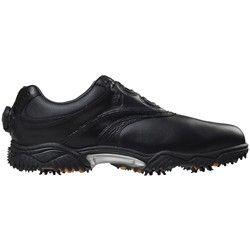 FootJoy Contour 54203 BOA Golf Shoes Black/Black Tumbled