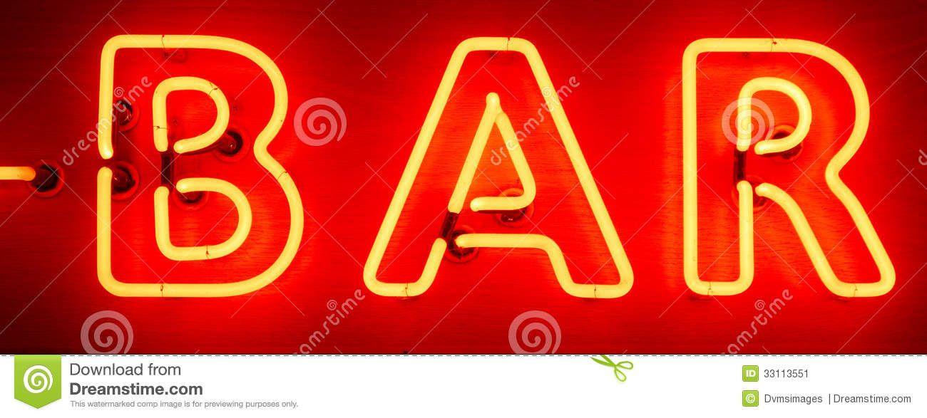 Neon Bar Sign Red Yellow 33113551 Jpg 1300